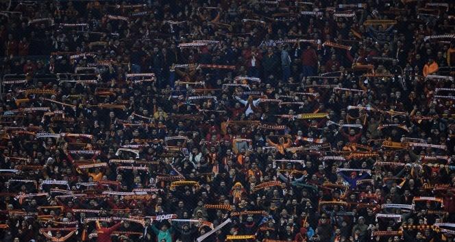 Türk Telekom Stadyumu'ndaki maçı 42 bin 722 seyirci izledi