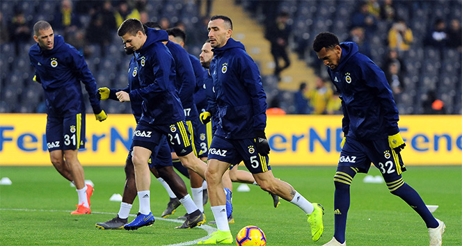 Fenerbahçe'de 3 değişiklik