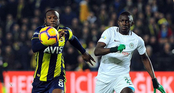 Fenerbahçe, Konyaspor engelini aşamadı   Fenerbahçe - Konyaspor kaç kaç?