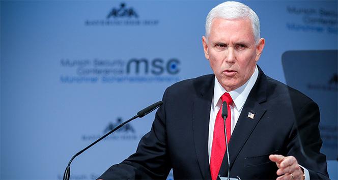 ABD Başkan Yardımcısı Pence, Almanya'yı 'Kuzey Akım 2' hakkında uyardı