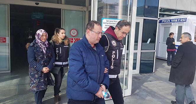 Ankara'da yakalanan FETÖ şüphelisi 2 kişi adliyede