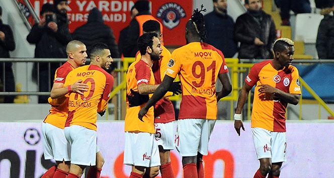 Galatasaray bu sezon deplasmanda 5. kez kazandı