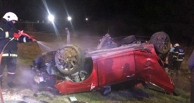 Tekirdağ'da trafik kazası: 3 yaralı!
