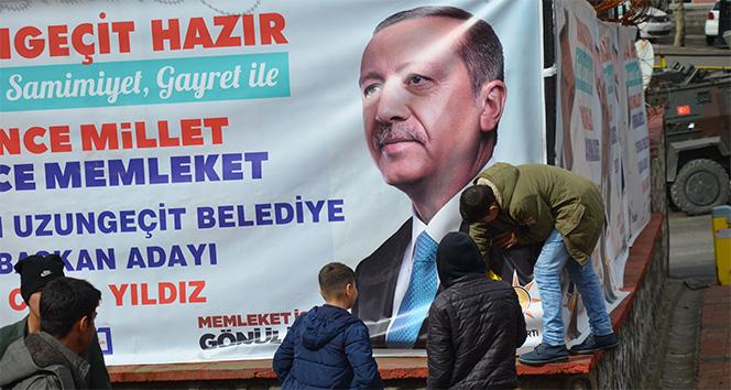 Şırnaklı çocuğun Recep Tayyip Erdoğan sevgisi