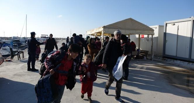 Çanakkale'de 59 mülteci yakalandı