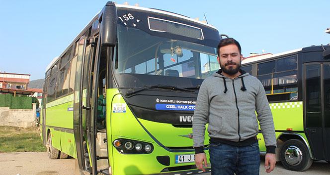 Otobüsteki taciz şüphelisini döverek karakola telim eden şoför o anları anlattı