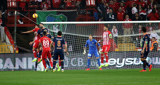 Başakşehir, Antalya'da tek golle kazandı | Antalyaspor - Başakşehir kaç kaç?