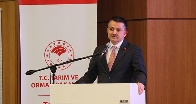 Bakan Pakdemirli: 'Tarım, Savunma Sanayii'nden daha önemli'