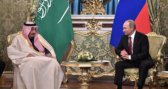 Putin ve Kral Selman telefonda görüştü