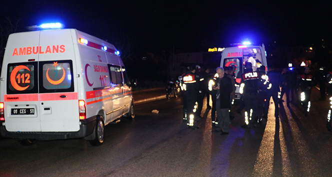 Alkollü sürücü uygulama yapan polise pikabıyla çarpıp kaçtı