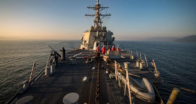 ABD'nin füzesavar gemisi Karadeniz'e girdi