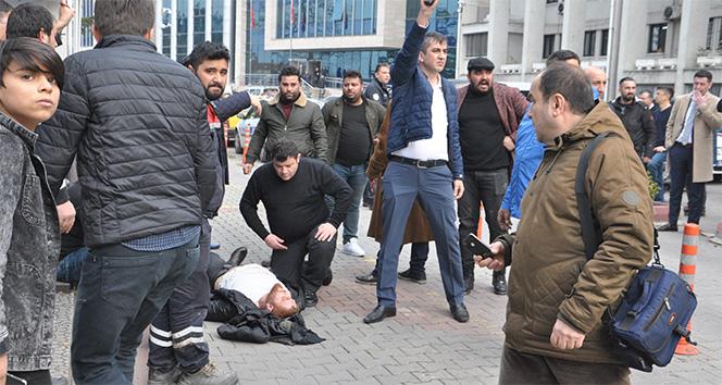 Gazeteciye adliye çıkışı silahlı saldırı