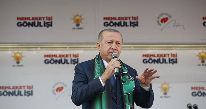 Cumhurbaşkanı Erdoğan: En ücra köşelerdeki mahalledeki marketlere varıncaya kadar onlarla bu satışları yapacağız