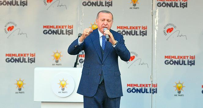 Cumhurbaşkanı Erdoğan'dan çağrı: 'Bu kaçak yapılardan bir an önce çıkın'
