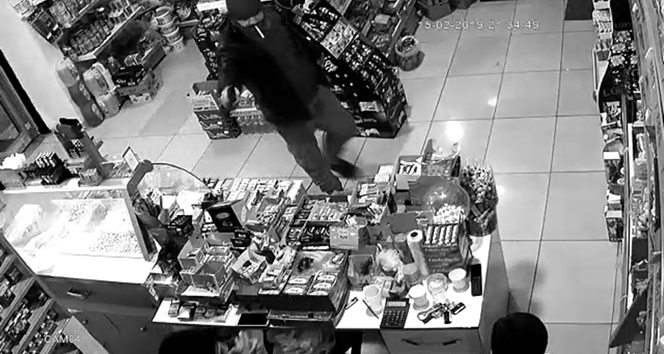 Batman'da silahlı market soygunu