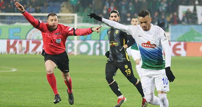 Çaykur Rizespor'dan gol şov! Çaykur Rizespor 3- 0 Evkur Yeni Malatyaspor