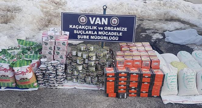 Van'da kaçakçılık operasyonu  !