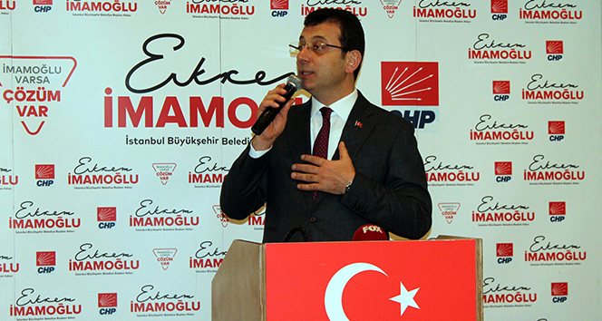 İmamoğlu: 'İstanbul'u hasta ettiler, iyi etmeye geldik'