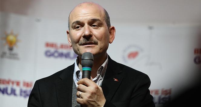 Bakan Süleyman Soylu: '31 Mart seçimlerinde esas mağdur olan Binali Beydir'