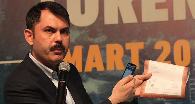 Bakan Murat Kurum açıkladı! 'Yeni bina temeli atılıyor'