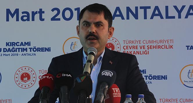 Bakan Kurum, 'Ülkemizi depreme karşı hazırlıyoruz'