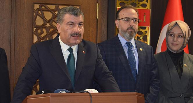 Sağlık Bakanı Koca'dan 'kızamık' açıklaması