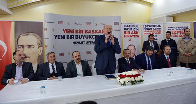 Mevlüt Uysal: 'Amacımız Büyükçekmece'ye AK Parti belediyeciliği getirmek'