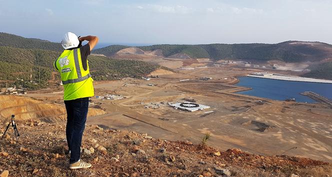 Türkiye'de ilk olacak! Beton dökme çalışmaları tamamlandı...