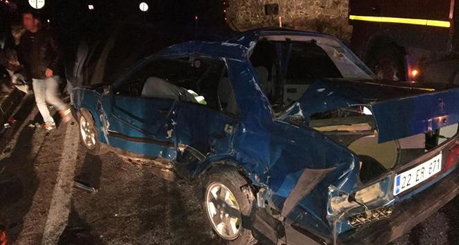 Edirne'de trafik kazası: 1 ölü !