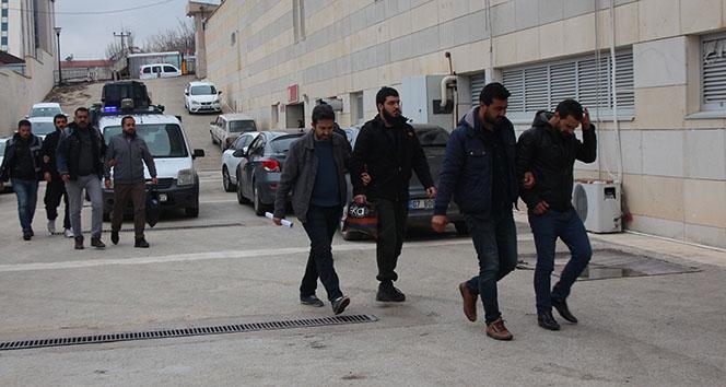 Elazığ'da DEAŞ operasyonunda 7 şüpheli adliyeye sevk edildi
