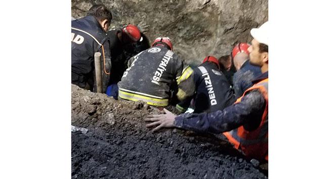 Honaz Tüneli'nde toprak kayması: 1 işçi hayatını kaybetti