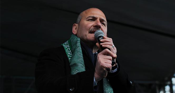 İçişleri Bakanı Soylu: 'Kılıçdaroğlu çok büyük bir tezgah hazırlıyor'