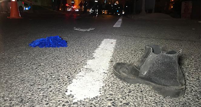 Sarıyer'de yaya geçidinde feci kaza:1 ölü