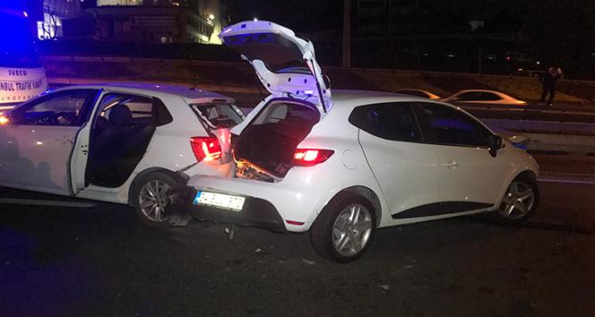 Bakırköy'de feci kaza: 5 yaralı