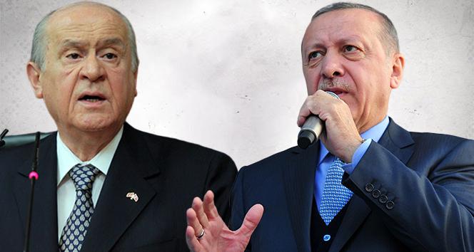 Cumhurbaşkanı Erdoğan ve Bahçeli ortak miting düzenledi!