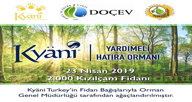 Kyani 'Yardımeli' bu defa Türkiye ormanlarına uzanıyor