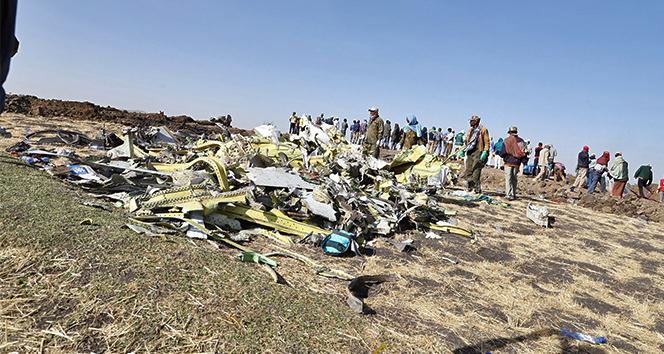 Boeing 737 Max 8'in kara kutusunu alan müfettişler Addis Ababa'da