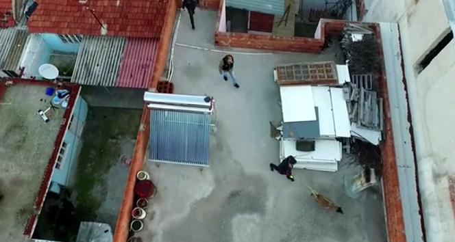 Aydın'da 'drone' destekli nefes kesen narkotik operasyonu: 16 gözaltı
