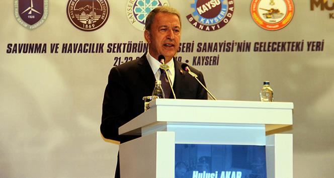 Bakan Akar: 'Ülkemize dönük tehditler var'