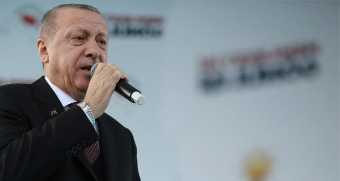 Cumhurbaşkanı Erdoğan: ' Bu seçimler sadece belediye değil, aynı zamanda beka seçimidir'