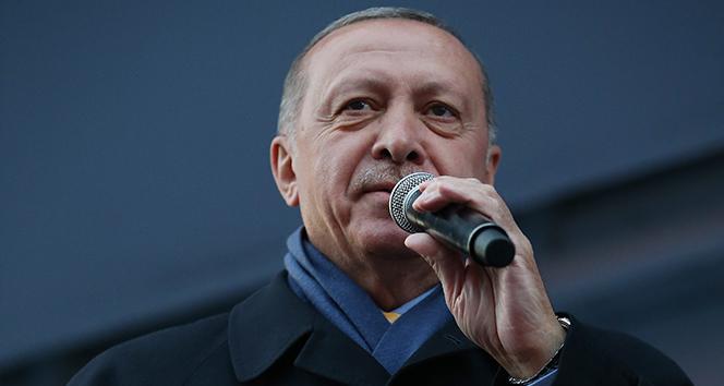 Cumhurbaşkanı Erdoğan Amasya'da müjdeyi verdi: Bin kişilik yeni istihdam oluşturuyoruz