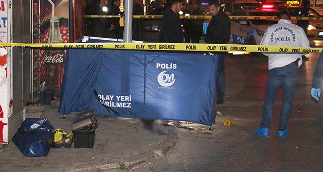 İzmir'de silahlı saldırı: 1 kişi öldü