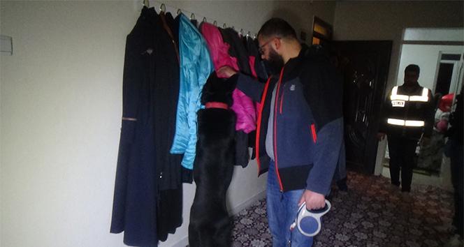 Gaziantep'te 20 adrese eş zamanlı uyuşturucu operasyonu