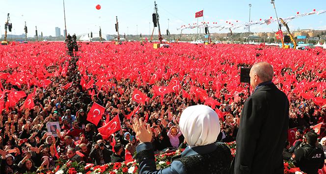 Rekor katılım! Cumhurbaşkanı Erdoğan sayıyı açıkladı