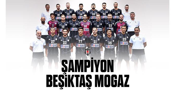Hentbol Süper Ligi'nde şampiyon Beşiktaş