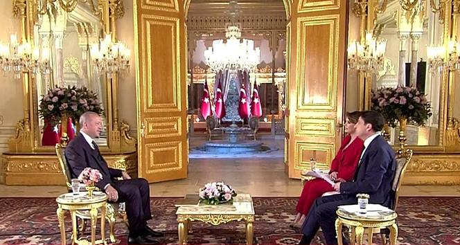 Cumhurbaşkanı Erdoğan, TGRT Haber ve İHA seçim özel yayınında konuştu!