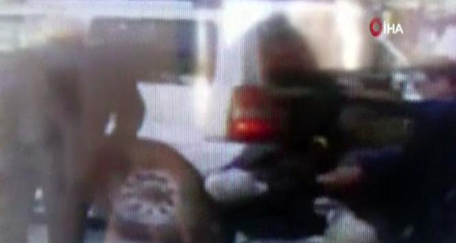 Ünlü profesörün cipiyle yayaların arasında daldığı kaza kamerada