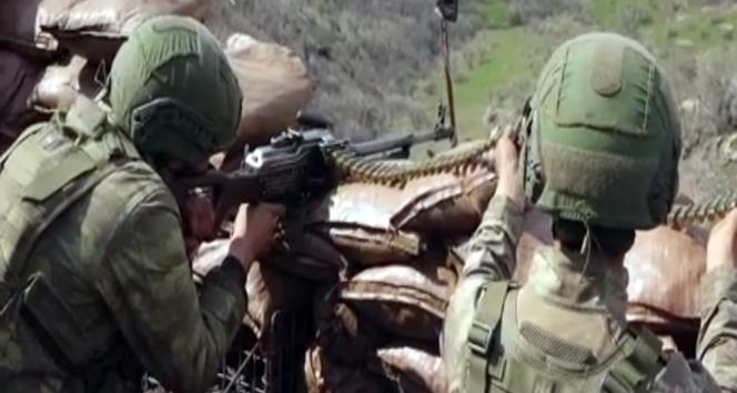 Kuzey Irak Hakurk'taki Temel Çakır Üs Bölgesinde askerler teröristlerin saldırı girişimini anlattı