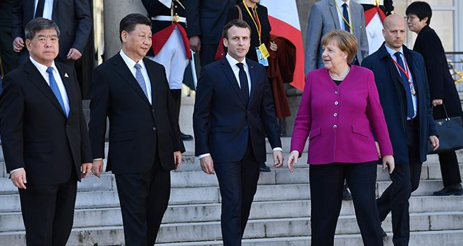 Avrupalı liderler Çin Devlet Başkanı Jinping ile görüştü