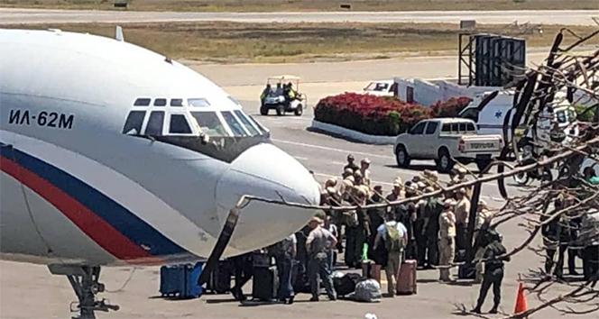 ABD, Rusya'yı Venezuela'ya askeri uçak göndermesini kınadı